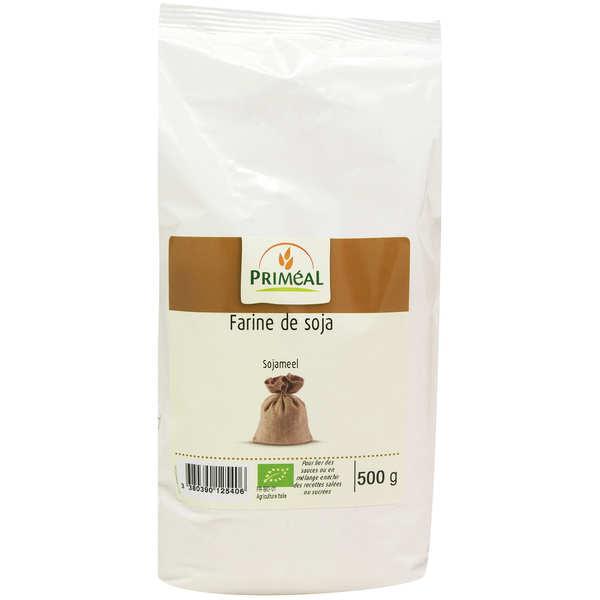 Priméal Farine de soja Bio - 3 sachets de 500g