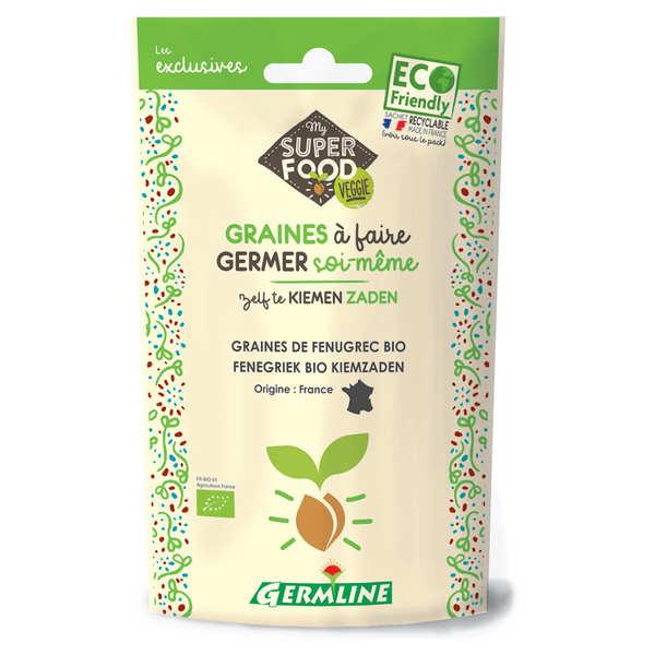 Germline Fenugrec bio - Graines à germer - Sachet 150g