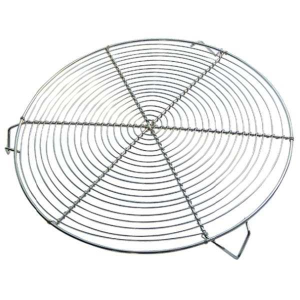 de Buyer Grille pâtissière ronde avec pieds 32cm - La grille