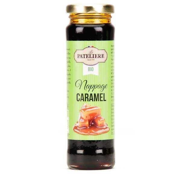 La Patelière bio Nappage caramel bio - Pot 190g