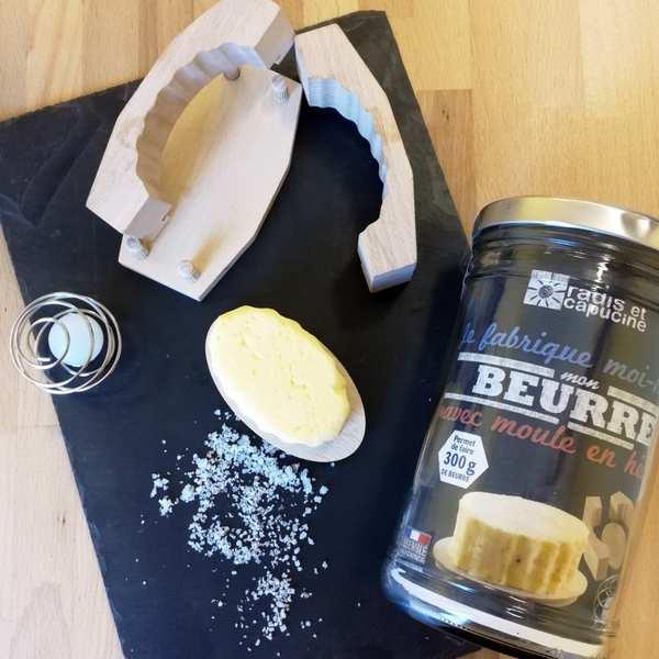 Radis et Capucine Kit je fabrique mon beurre - Le kit