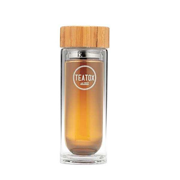 Teatox Bouteille thermos - Bouteille en verre
