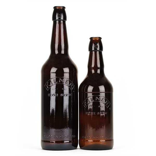 Kilner Bouteille de bière vide - Lot 6 bouteilles 75cl