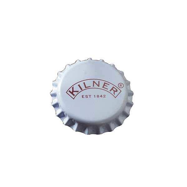 Kilner 50 capsules pour bouteilles en verre (bière, soda) - Paquet 50 capsules