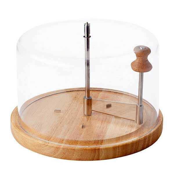 Joie msc Racloir à fromage Tête de moine avec cloche - Le racloir et la cloche
