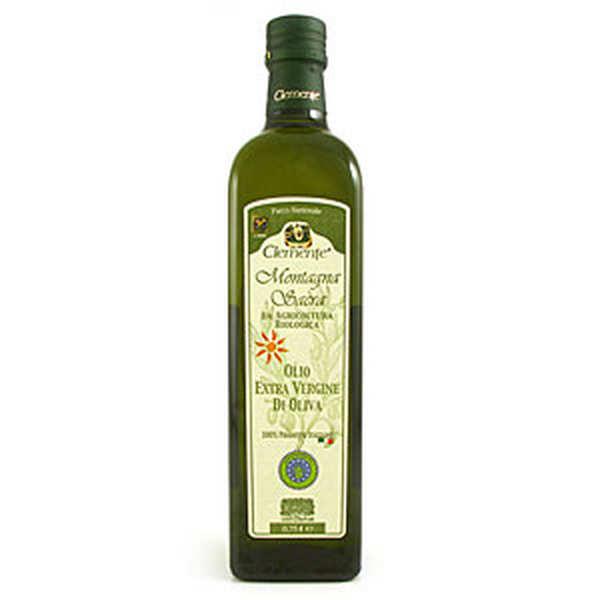 Olearia Clemente Huile d'olive italienne Clemente Montagna Sacra bio - Bouteille 75cl