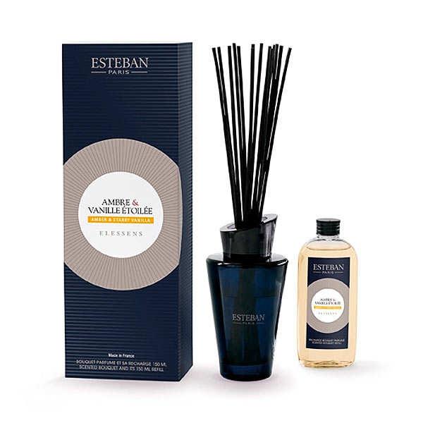 Esteban Bouquet parfumé - Ambre et vanille étoilée - Le kit