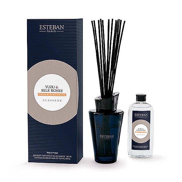 Esteban Bouquet parfumé - Yuzu & sels roses - Le kit