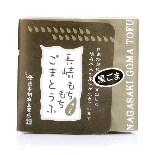 Nishikidôri Tofu de sésame noir, sucre noir et kinako - Barquette 100g
