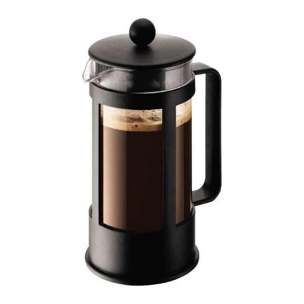 Bodum Cafetière à piston 1L - Kenya - Cafetière 1L, 8 tasses