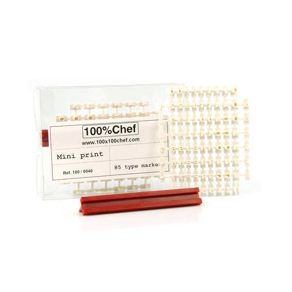 BienManger.com Kit de personnalisation des opercules de pots de yaourts - Kit de personnalisation 80 caractères