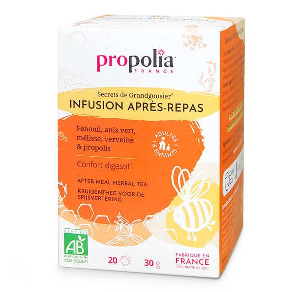 Propolia Infusion Bio - Plantes et Propolis - Digestion - Boîte 20 sachets