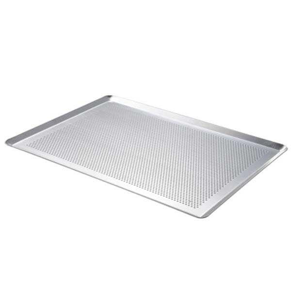 de Buyer Plaque de cuisson aluminium perforé - Plaque 40x30cm