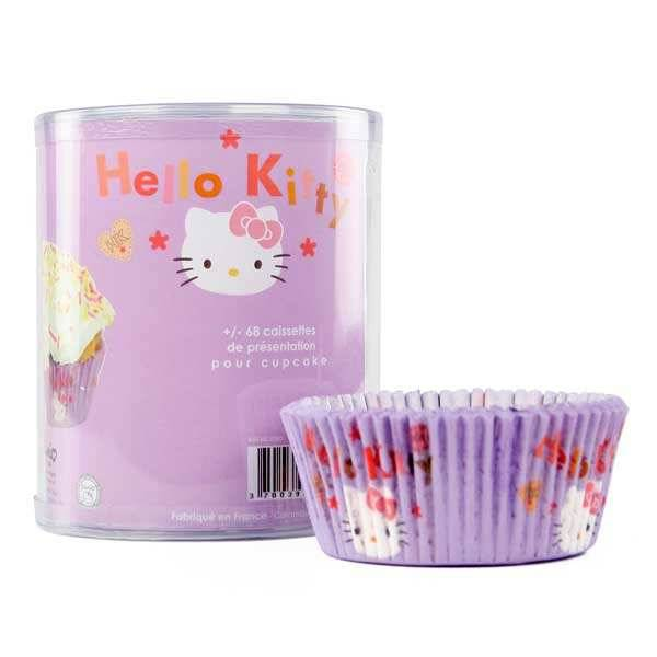 ScrapCooking ® 68 caissettes Hello Kitty pour cupcakes - 68 caissettes Hello Kitty
