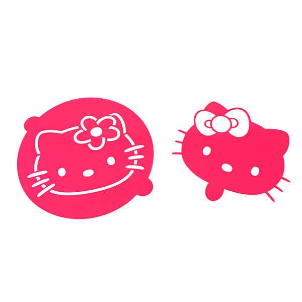 ScrapCooking ® Pochoir pour gâteaux HELLO KITTY - Lot 2