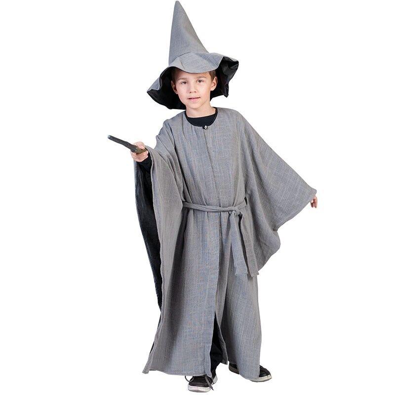 No Name DÉGUISEMENT MAGICIEN GRIS ENFANT