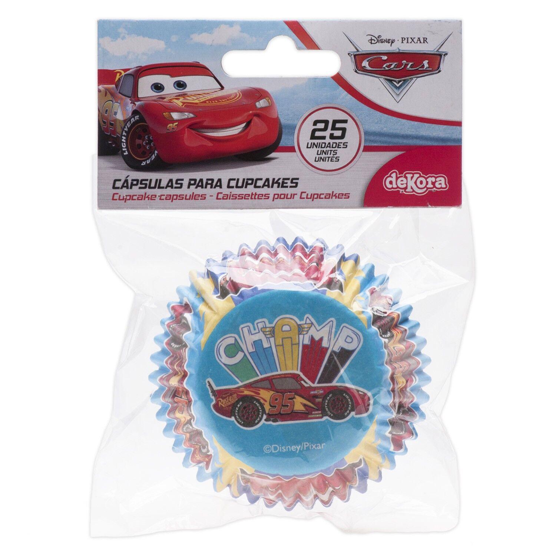 Générique 25 CAISSETTES POUR CUPCAKES CARS