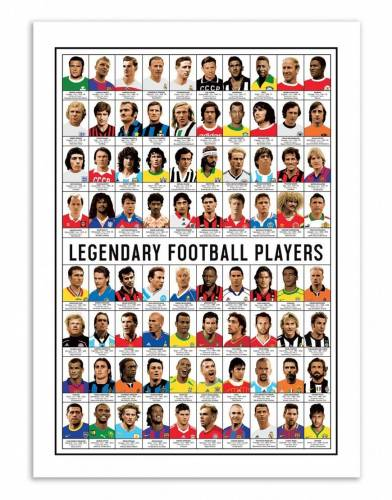 Wall Editions LEGENDARY FOOTBALL...