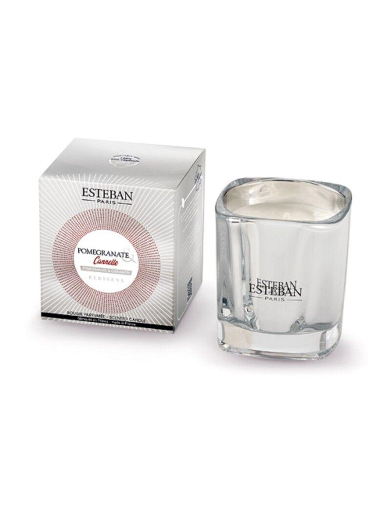 Esteban Bougie parfumée pomegranate et cannelle