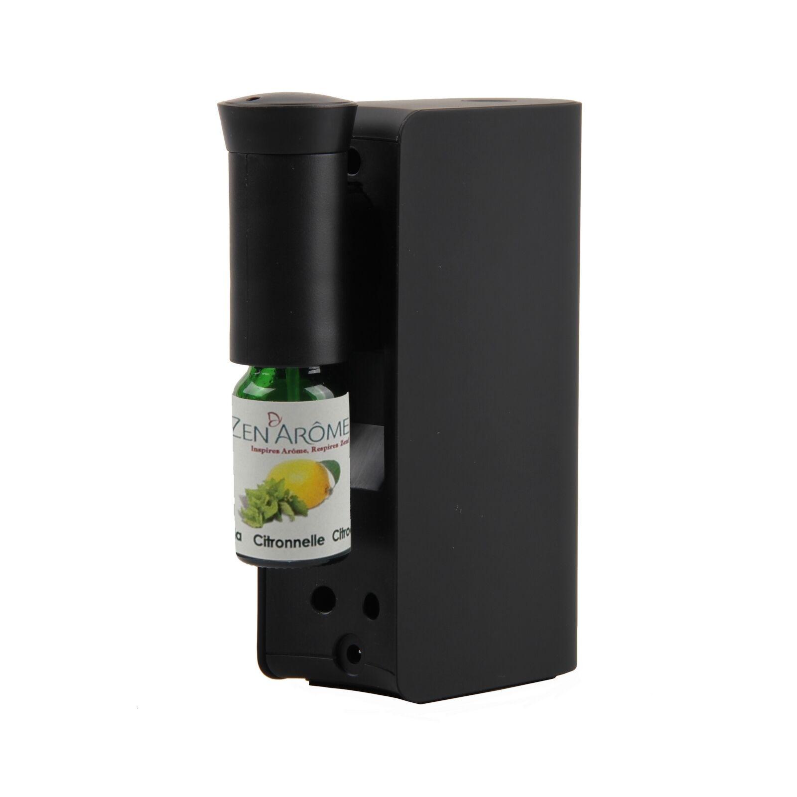 Zen'Arôme Diffuseur d'huiles essentielles par nébulisation Mobysens noir