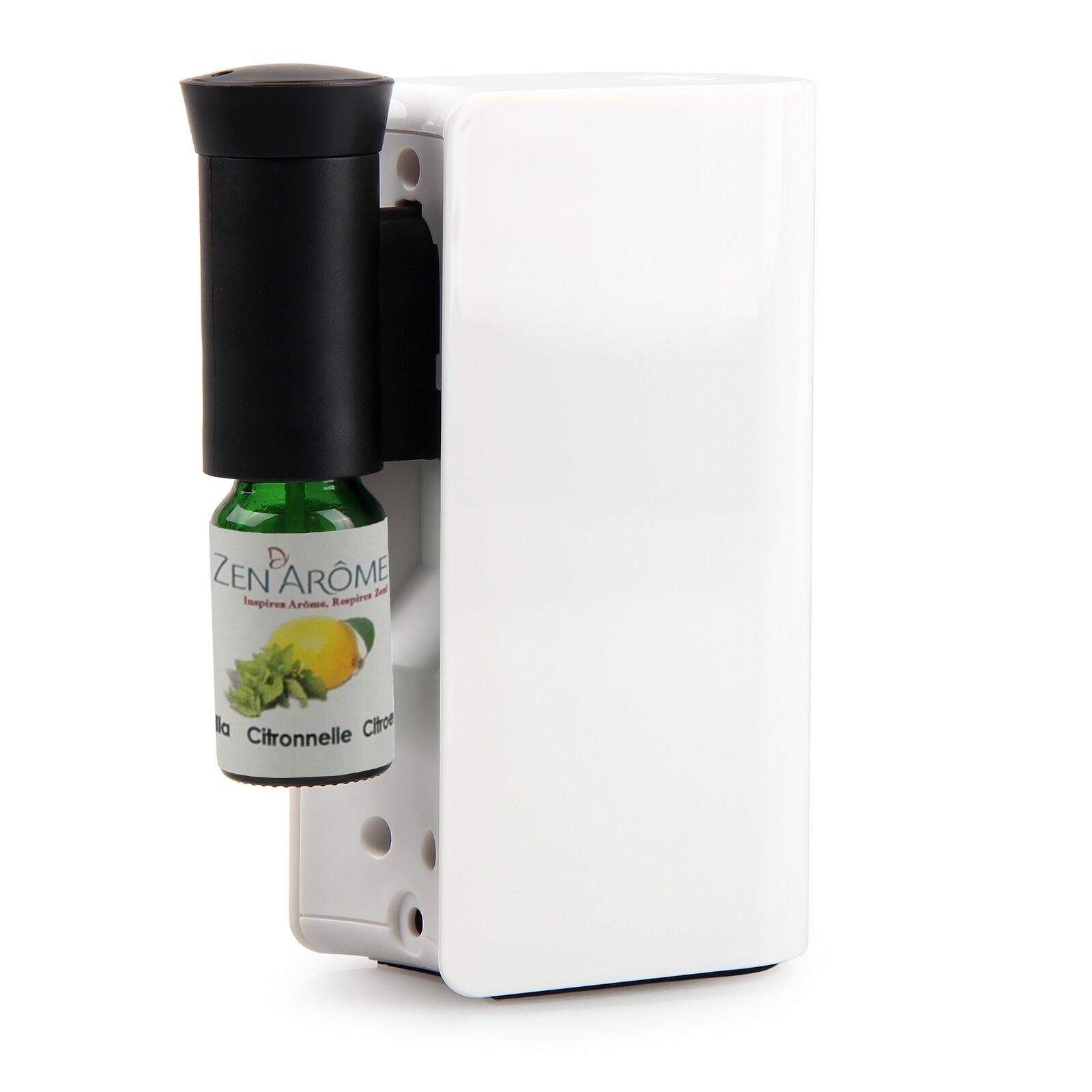 Zen'Arôme Diffuseur d'huiles essentielles par nébulisation Mobysens blanc