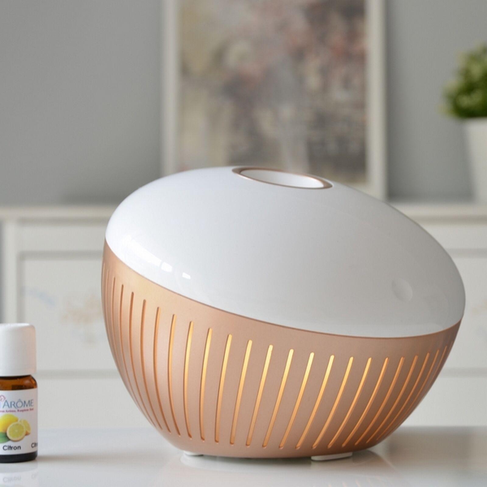 Zen'Arôme Diffuseur d'huiles essentielles ultrasonique éclairage led Voglia
