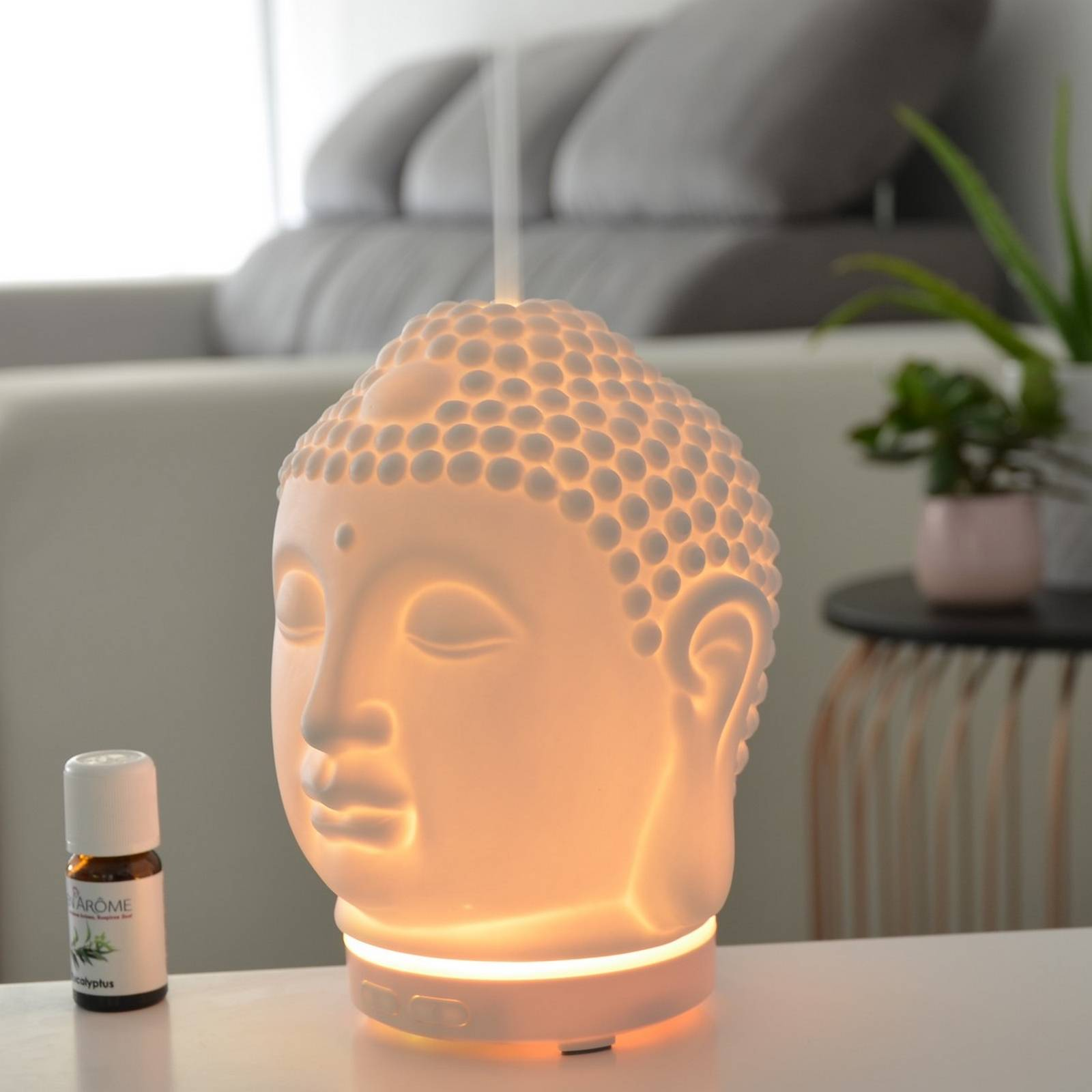 Zen'Arôme Diffuseur d'huiles essentielles ultrasonique en céramique Amida
