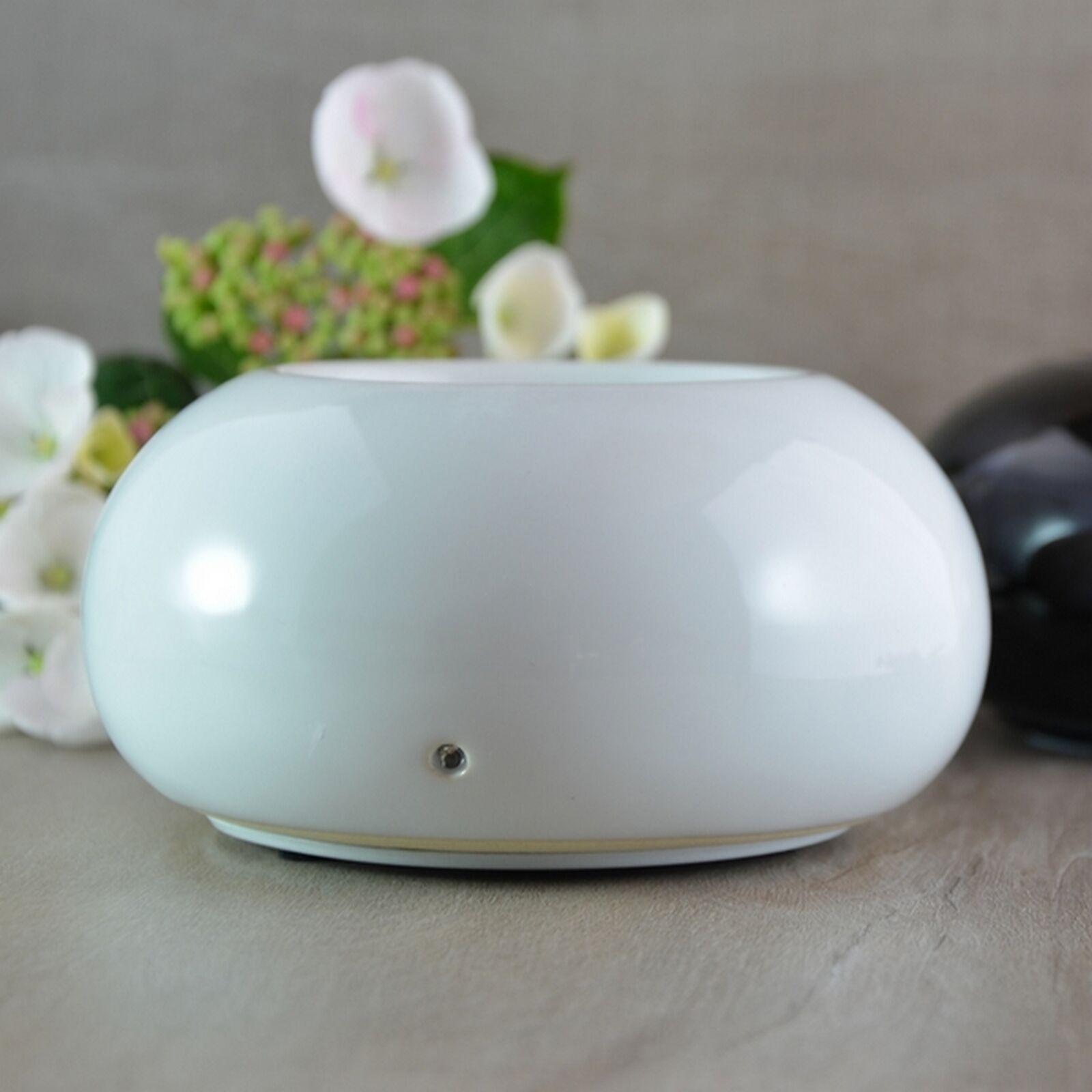 Zen'Arôme Diffuseur d'huiles essentielles par chaleur douce Cosy blanc