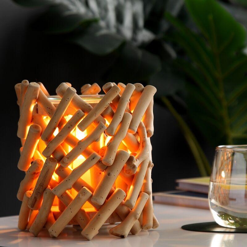 Zen'Arôme Diffuseur par chaleur douce en verre et bois Calorya n°7