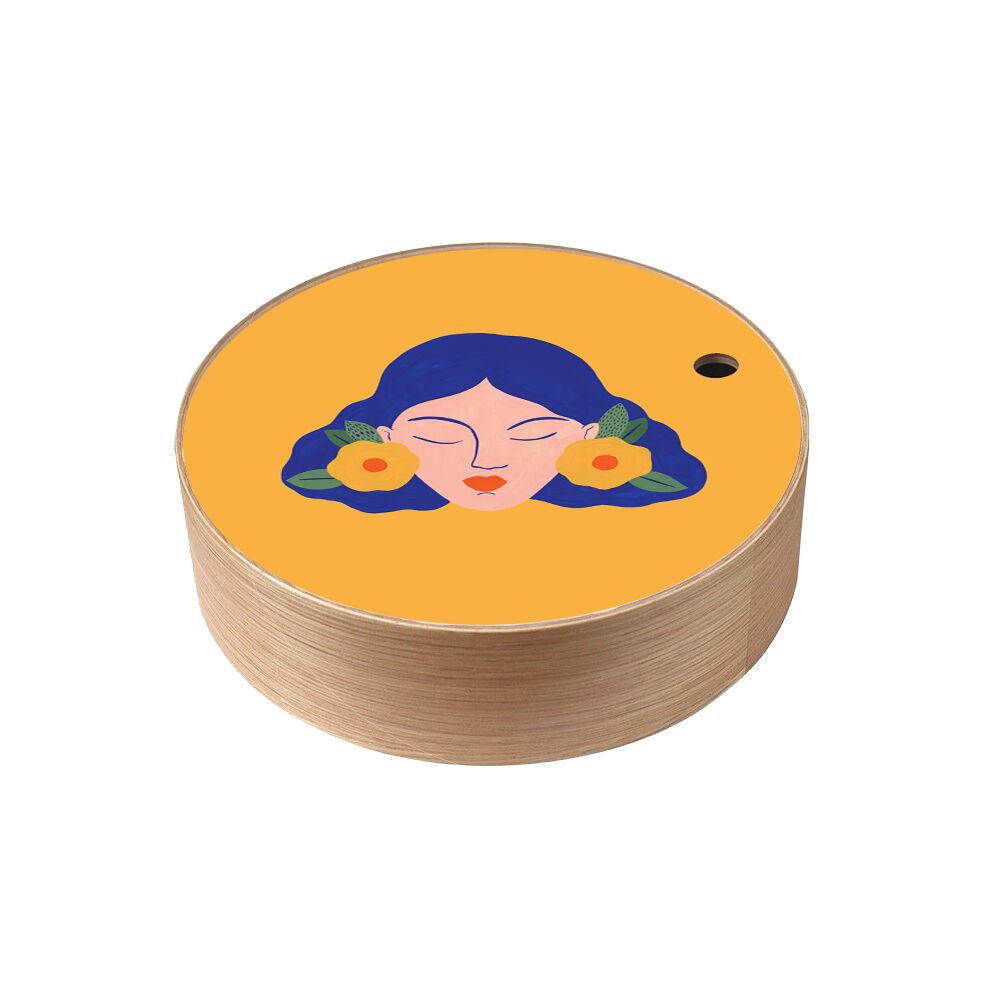 Atomic Boite de rangement en bois Frida  taille L