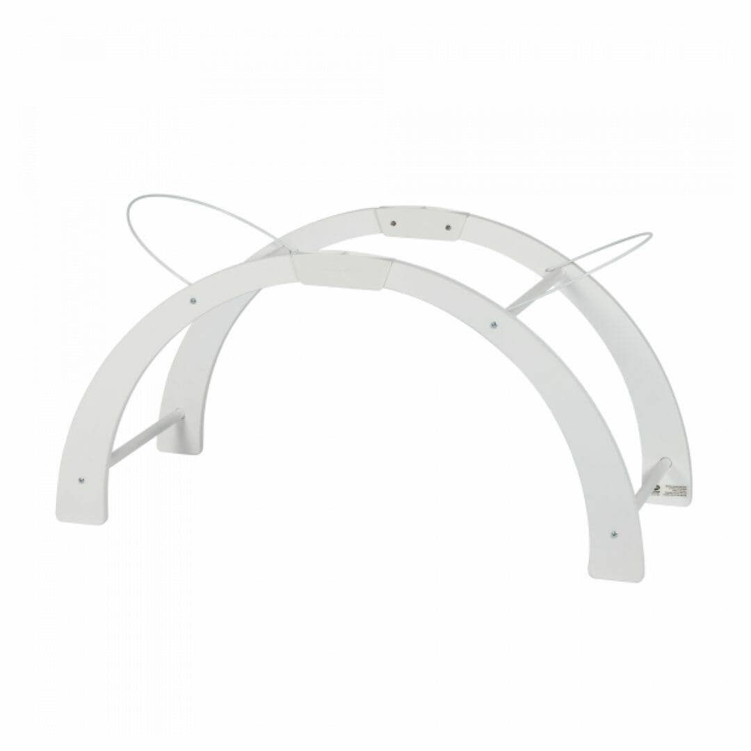 Shnuggle Support Couffin Réversible Blanc
