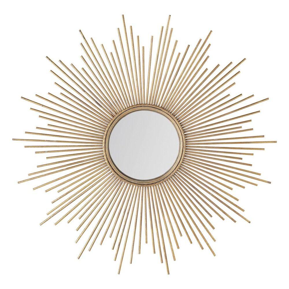 Maisons du Monde Miroir en métal doré D99