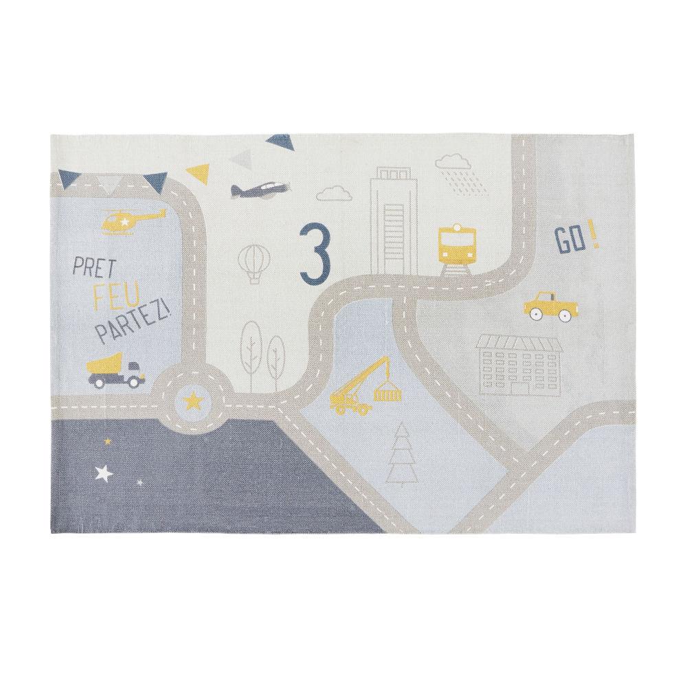 Maisons du Monde Tapis de voiture en coton 120x180