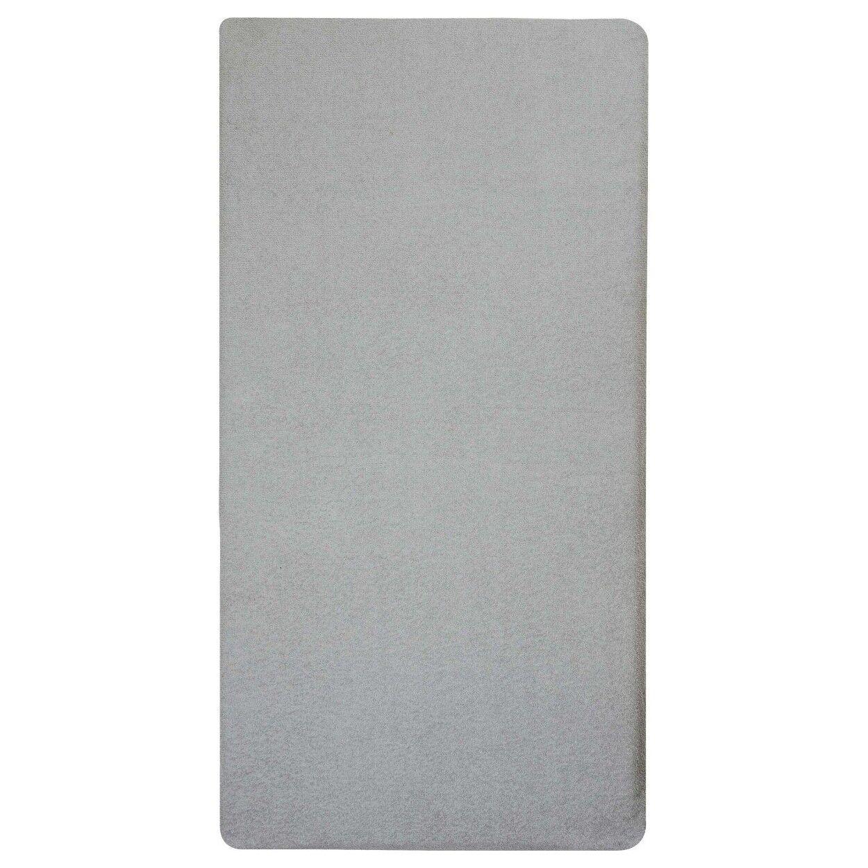 Candide Matelas bébé de voyage 60x120cm éponge gris