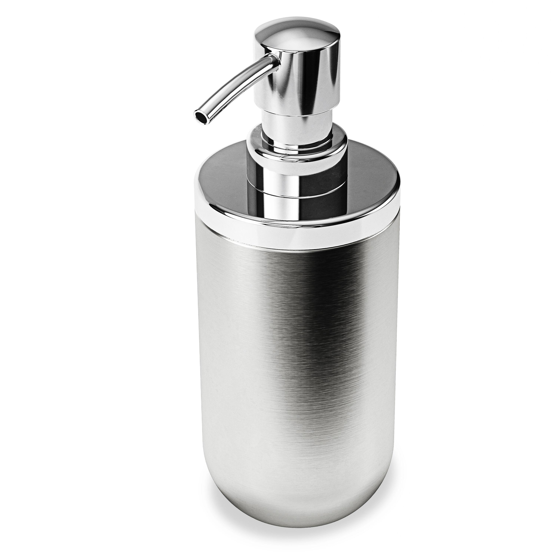 Umbra Pompe à savon ou gel hydroalcoolique en acier inoxydable
