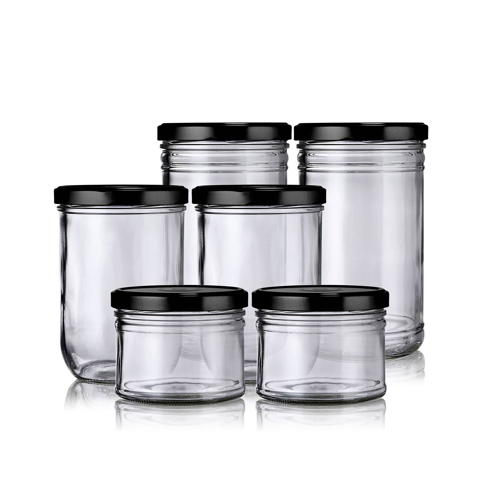Little Pots Lot bocaux hermétiques verre zéro déchet Franquette