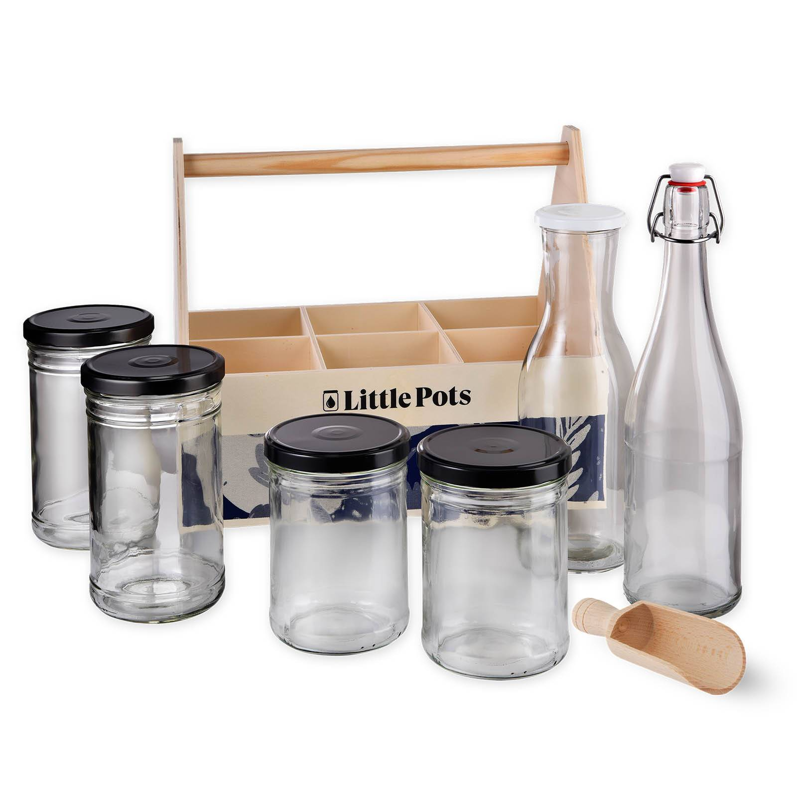 Little Pots Kit l'épicier d' coté contenants en verre courses en vrac