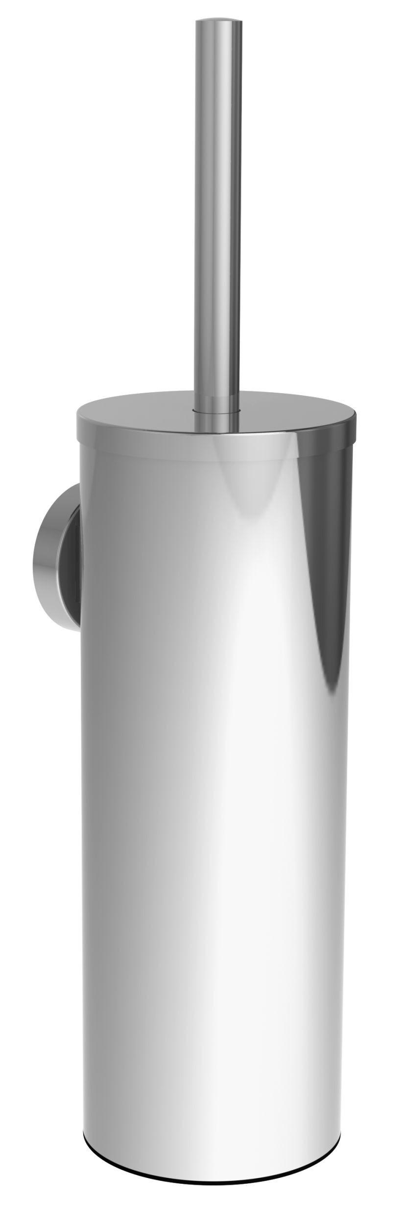 Allibert Brosse WC chrome brillant à fixer