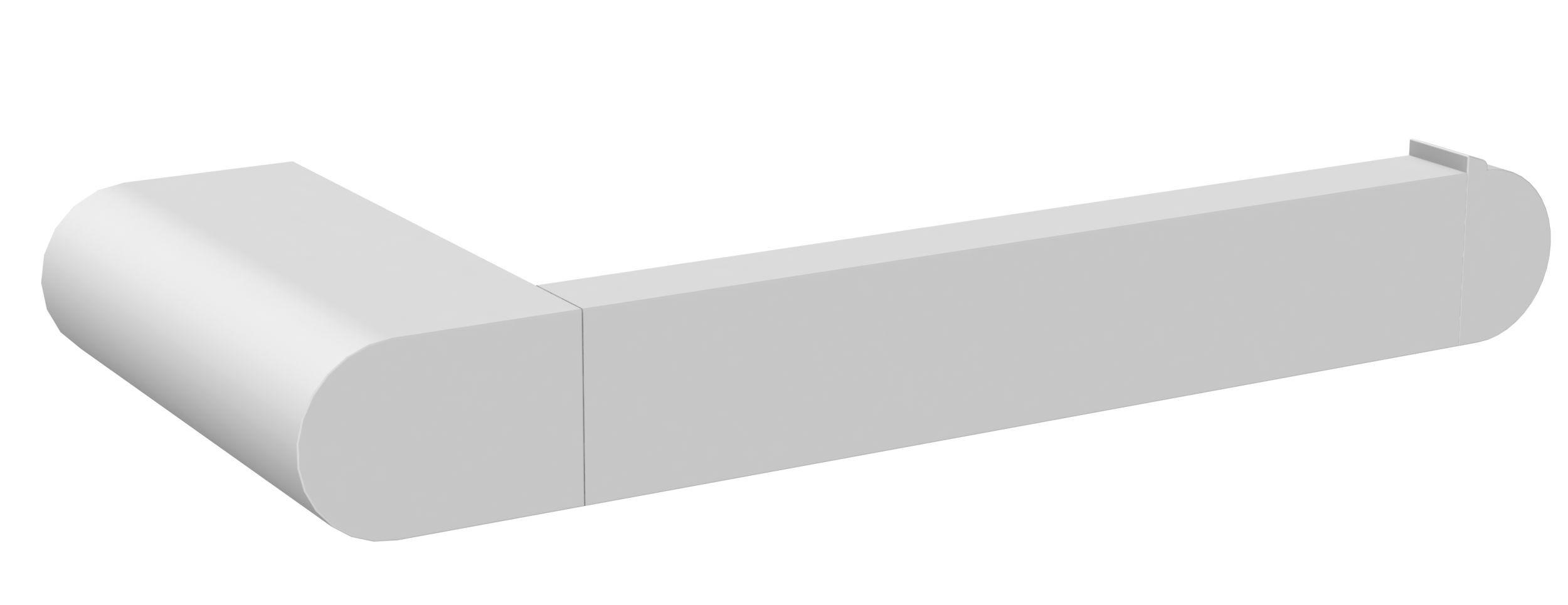 Allibert Porte-papier WC blanc mat à fixer