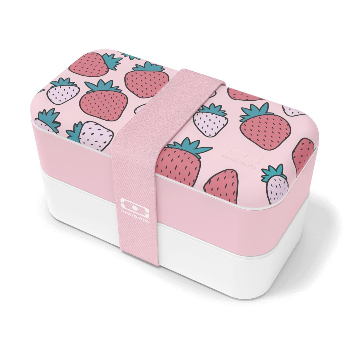 Monbento Bento graphic strawberry 1L
