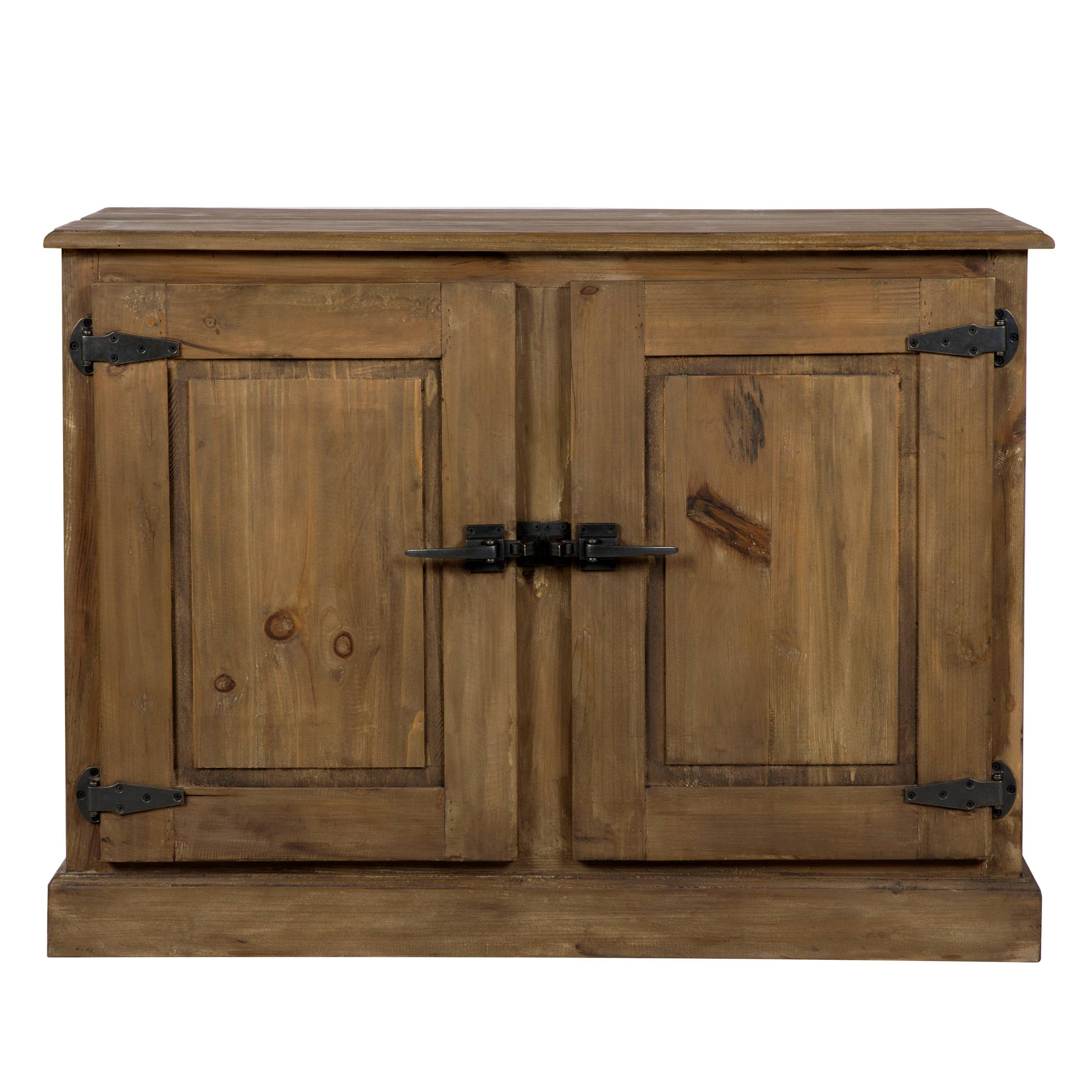 Rendez vous déco Buffet en bois recyclé 2 portes