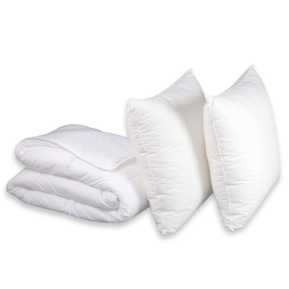 Dodo Pack Couette + Oreiller(s) Coton Bio - Bien-tre 200x200 cm