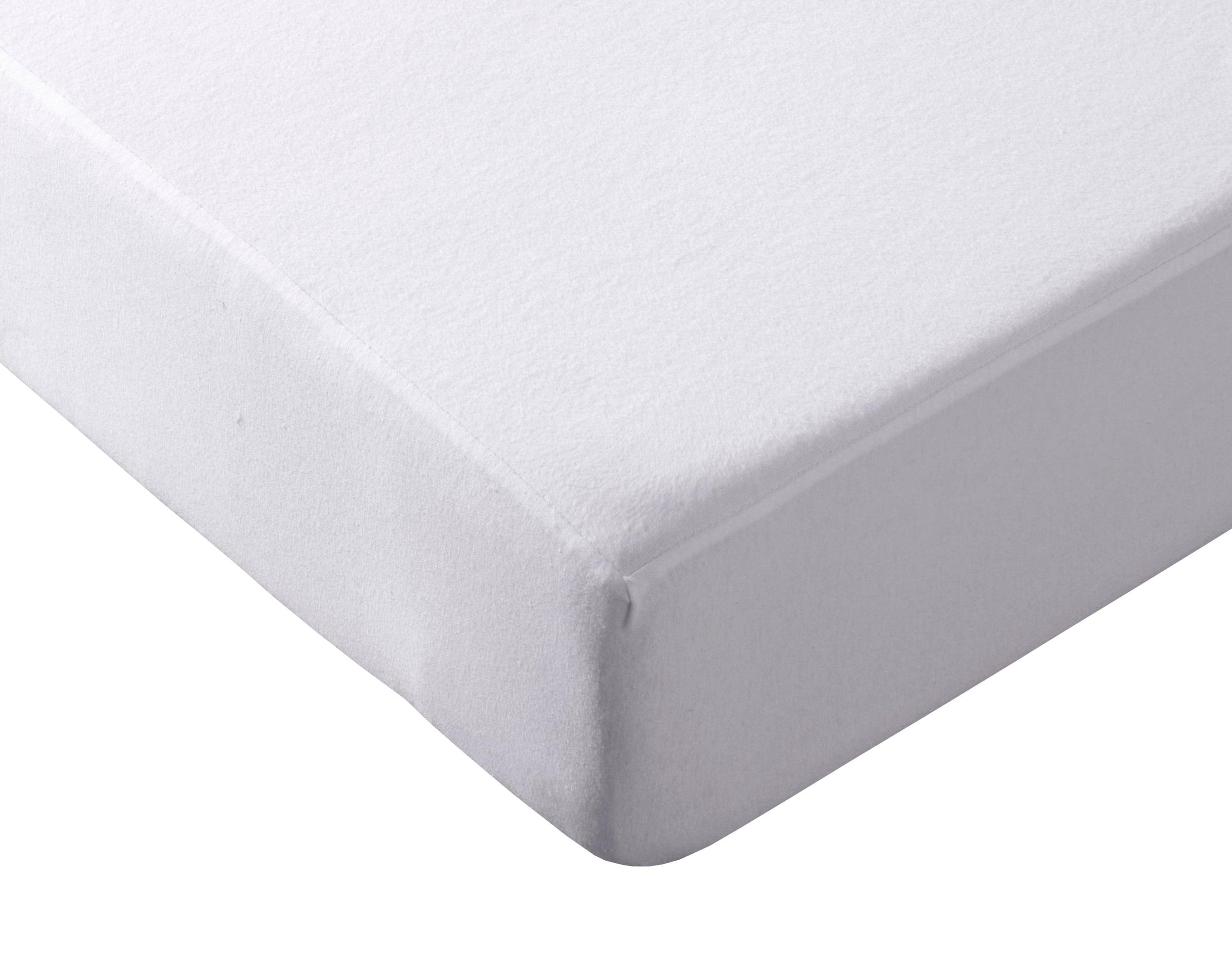 Becquet Protection de matelas 80x190 blanc en coton 190 g/m2