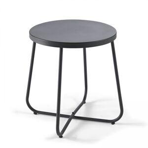 Oviala Table basse en métal noir - Publicité