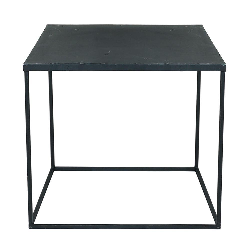 Maisons du Monde Table basse indus en métal noir