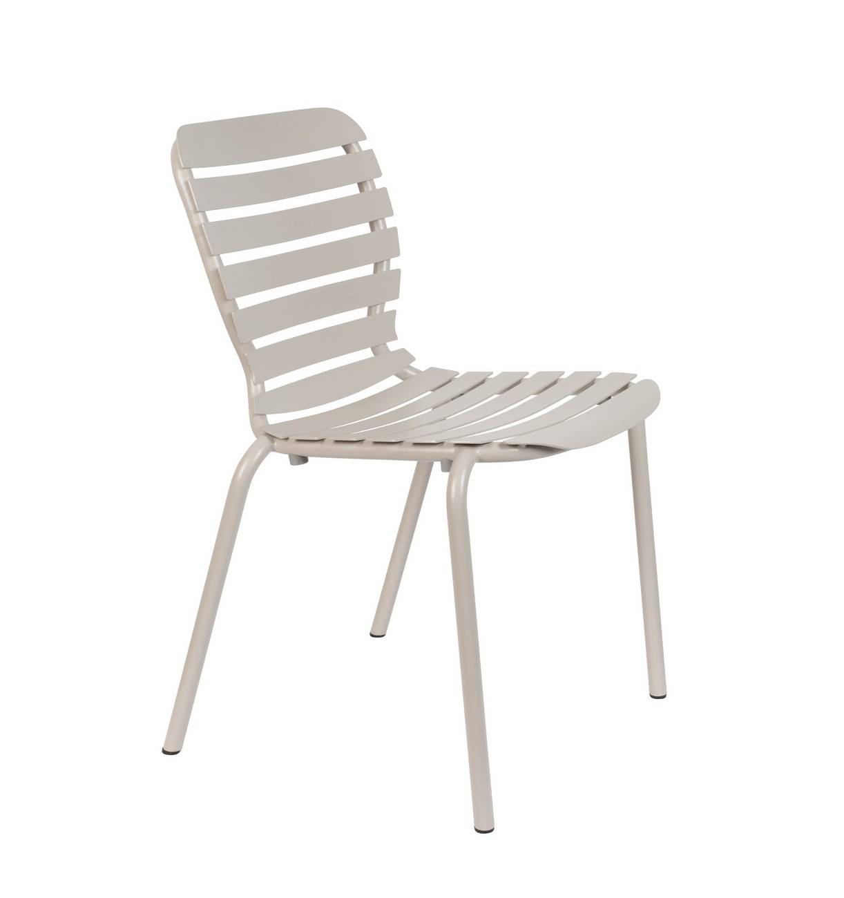 Zuiver Chaise de jardin en aluminium Argile