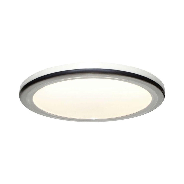 Brilliant Plafonnier LED de salle de bain métal/polycarbonate D30cm