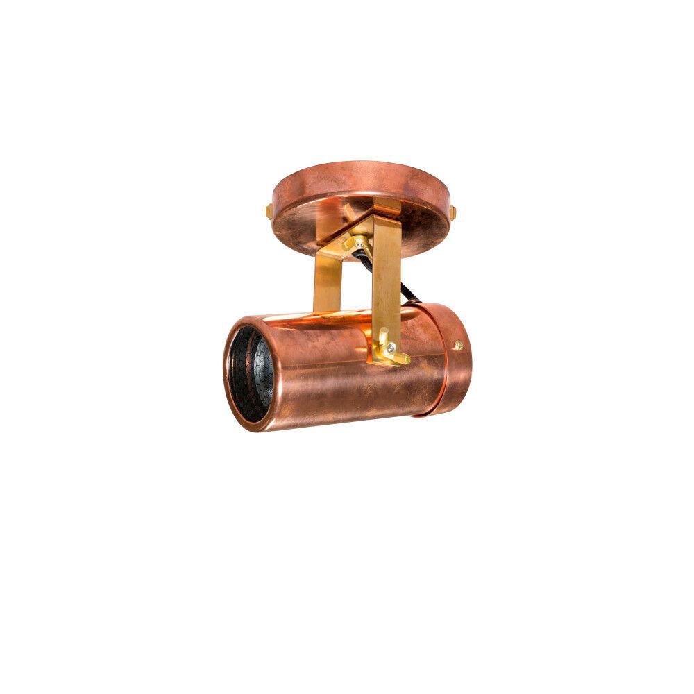Dutchbone Applique et plafonnier industriel cuivre