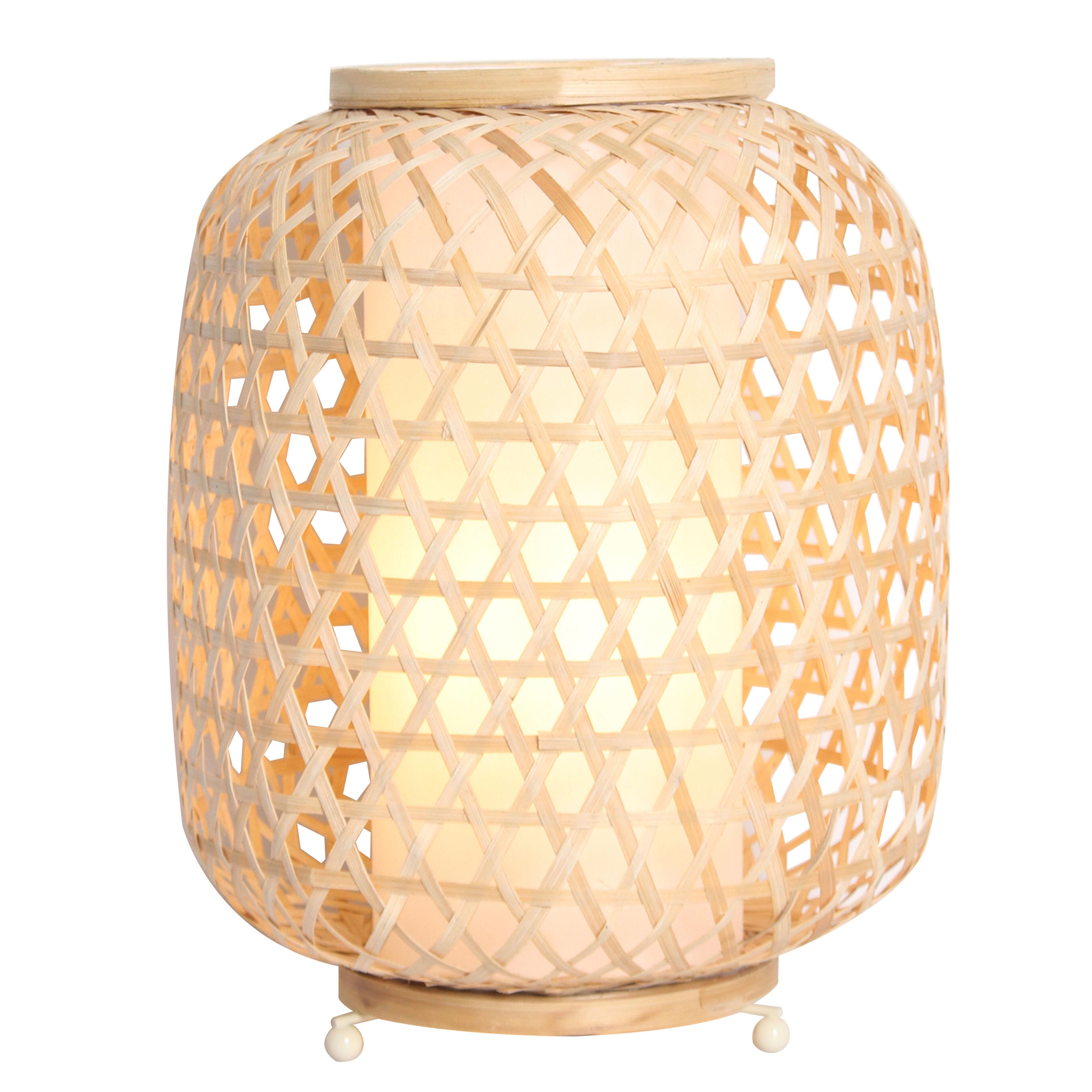 Keria Lampe en bambou bois