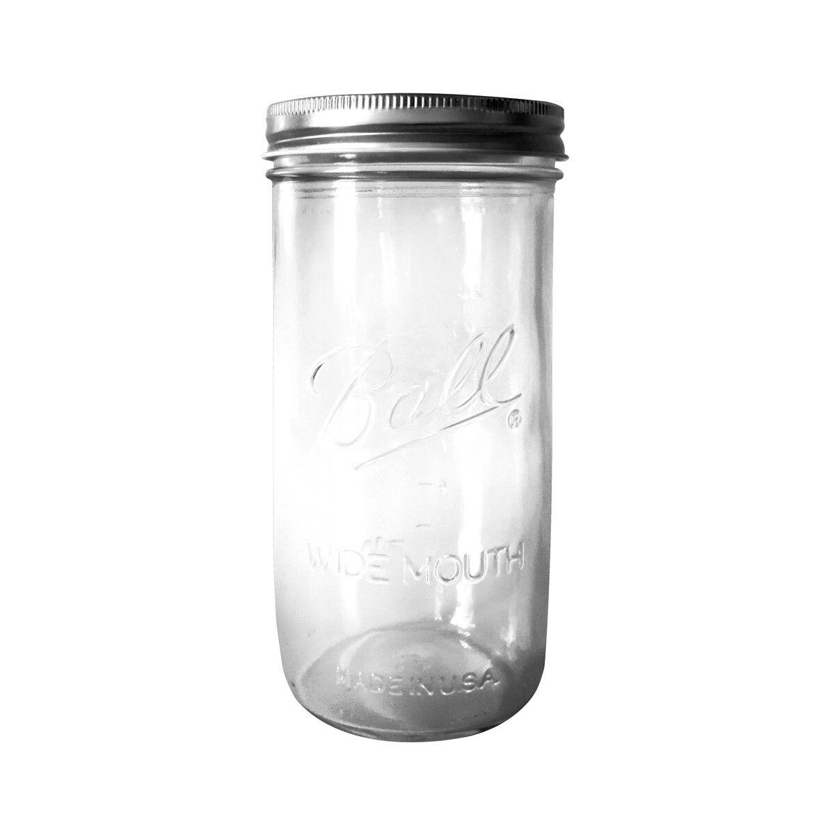 Fenel & Arno Lampe bocal en verre gris
